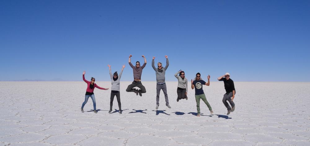 Besten Mitreisenden der Welt (v.l. Jolanda, ich, Lennart, Tom, Sara, Gabriel, Matthieu)