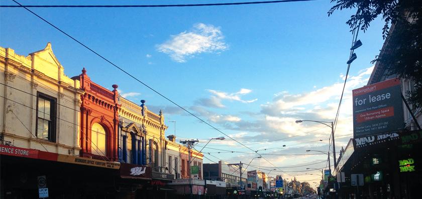 Ode an Melbourne